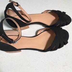 Marais USA black block heel size 10